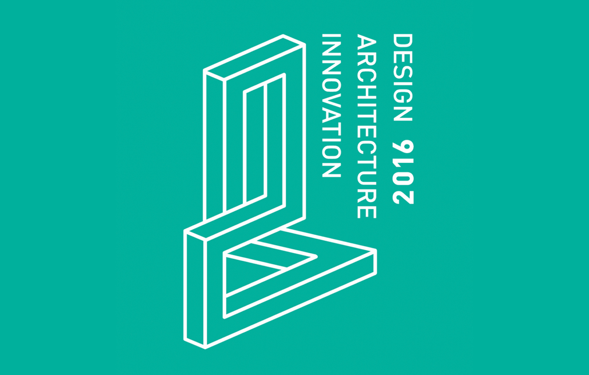 Logo for the Year of Innovation, architecture and design